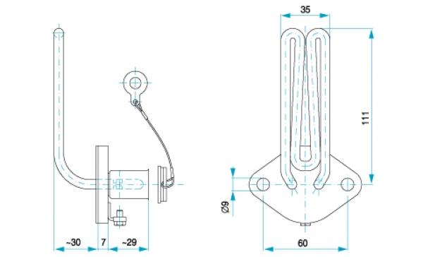 TYP 4098 - ohrev chladiacej kvapaliny v motoroch traktorov