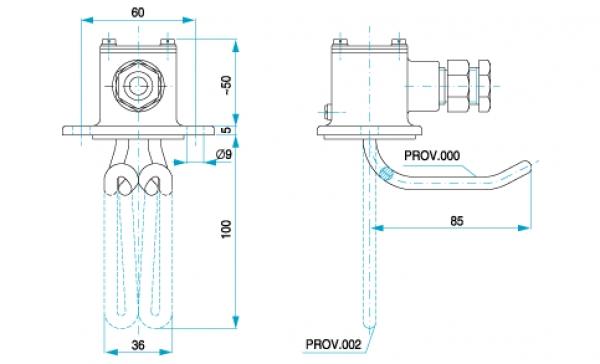 TYP 4826 - ohrev chladiacej kvapaliny v motoroch nákladných automobilov