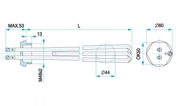 TYP 4633 - ohrev vody, bojlery